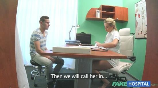 FakeHospital - Nikky - Stud caught giving nurse a creampie (HD/720p/972 MB)