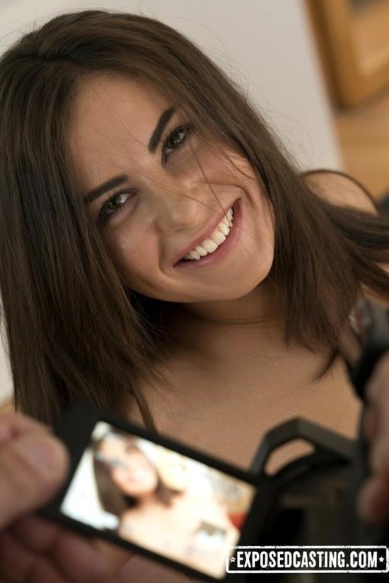 Exposedcasting/Porndoepremium - Nikki Waine - Flexible Ukrainian teen Nikki Waine gets cum covered in dirty hard casting (HD/720p/524 MB)