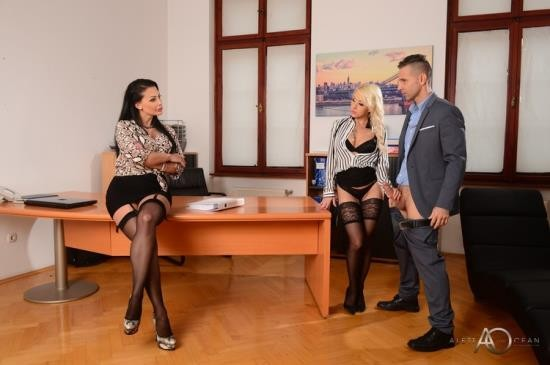 AlettaOceanLive - Aletta Ocean, Christina Shine - Office Affair (FullHD/1080p/923 MB)