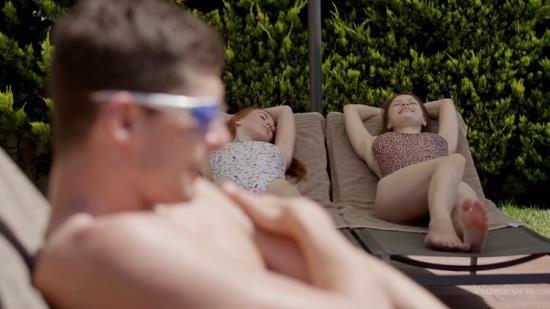 Wowporn - Beata, Janice, Linda - Sweet Poolside Action (FullHD/1080p/1.16 GB)