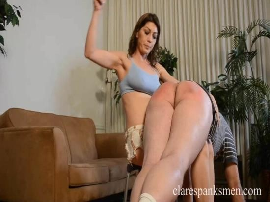ClareSpanksMen - Kay Richards - Boyfriend Learns Discipline (FullHD/1080p/601 MB)