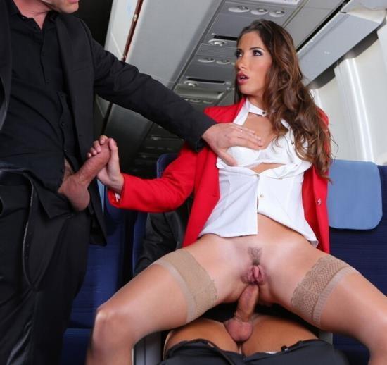 DorcelClub - Clea Gaultier - Clea Gaultier, stewardess in Seventh Heaven (FullHD/1080p/483 MB)