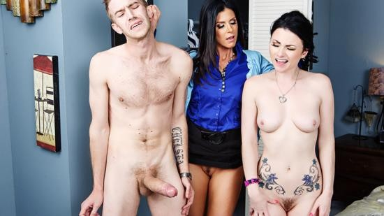 MilfsLikeItBig/Brazzers - India Summer, Veruca James - Anal Lessons From A Milf (HD/720p/1.02 GB)