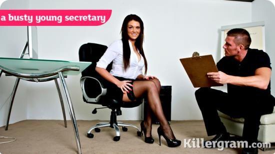 CumIntoMyOffice/ Killergram - Tessa Thrills - A Busty Young Secretary (HD/720p/600 MB)
