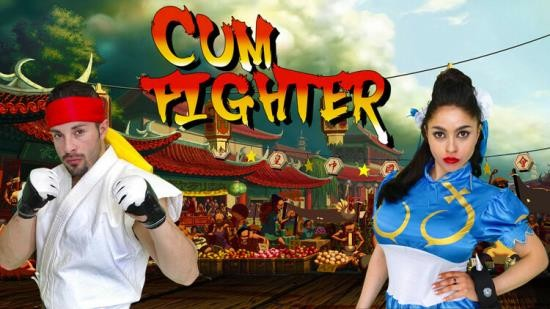 SpoofPorn/ CumLouder - Marta La Croft - Cum Fighter, Fuck! (HD/720p/644 MB)