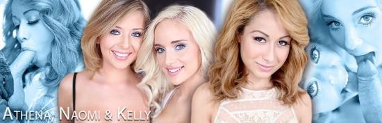 AmateurAllure - Athena Summers, Kelly Greene, Naomi Woods - Amateur Allure (FullHD/1080p/1.59 GB)
