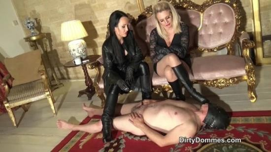 DirtyDommes - Fetish Liza - Desperate Leather Boot Slave Part 2 (HD/720p/263 MB)