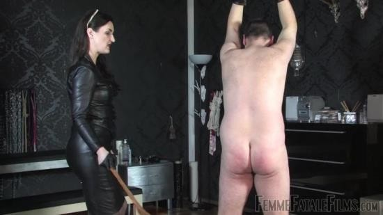 Femmefatalefilms - Lady Victoria Valente - Leather Lady Lashings - Complete Film (HD/720p/195 MB)