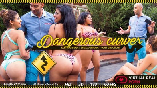 VirtualRealPorn - Kesha Ortega, Sheila Ortega - Dangerous curves (UltraHD 2K/1600p/3.01 GB)