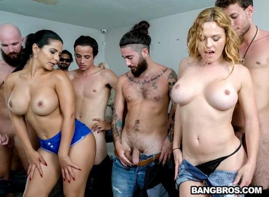 FuckTeamFive/BangBros - Krissy Lynn, Rose Monroe, Valentina Jewels, Nickiee - Porn Casting Surprise! (FullHD/1080p/2.99 GB)