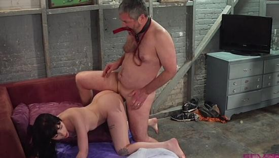 SEVERE SEX FILMS - CHARLOTTE SARTRE, JIMMY BROADWAY - STEPDAD GETS FUCKED AND PISSED ON (PART 2 OF 2) (HD/720p/649 MB)