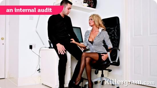 CumIntoMyOffice/ KillerGram - Tia Layne - An Internal Audit (HD/720p/641 MB)