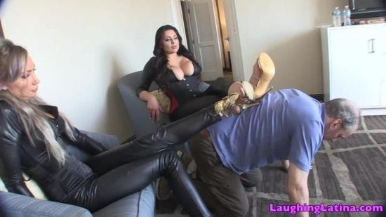 TheLaughingLatina - Taylor Knight - Cab Driver Turned Into Foot Bitch (HD/720p/681 MB)