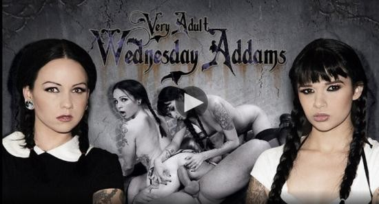 BurningAngel - Necro Nicki And Judas - Very Adult Wednesday Addams Afterparty (FullHD/1080p/1.75 GB)