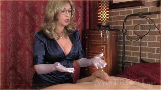 Mistress-T - Mistress-T - Satin Glove Fetish Therapy (HD/720p/282 MB)