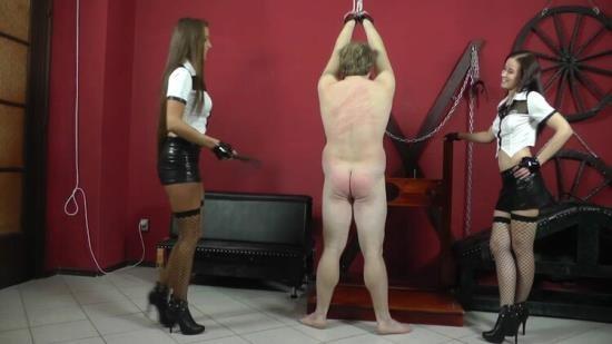CruelMistresses - Mistress Anette, Amanda - Naked Boys Mocking (FullHD/1080p/822 MB)