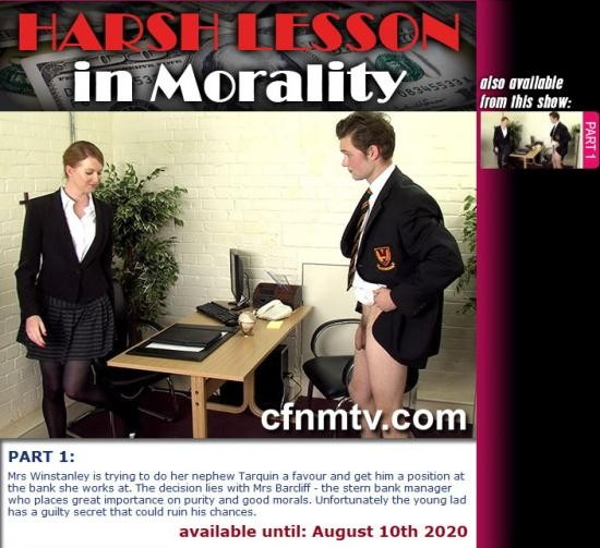 CFNMTV - UNKNOWN - HARSH LESSON IN MORALITY (PART 1) (SD/540p/141 MB)