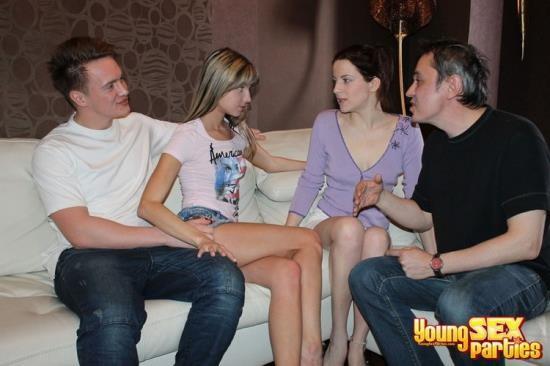 YoungSexParties - Masha, Lisa, Brian, Harold - Sharing girlfriends is fun (HD/720p/592 MB)
