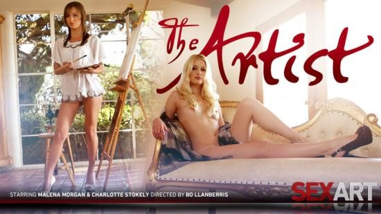 SexArt - Charlotte Stokely, Malena Morgan - The Artist (FullHD/1080p/182 MB)