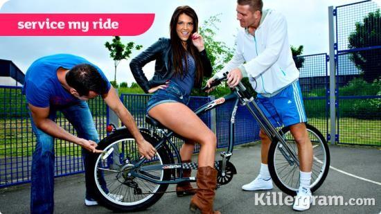 GirlyRiders/Killergram - Tessa Thrills - Service My Ride (HD/720p/757 MB)