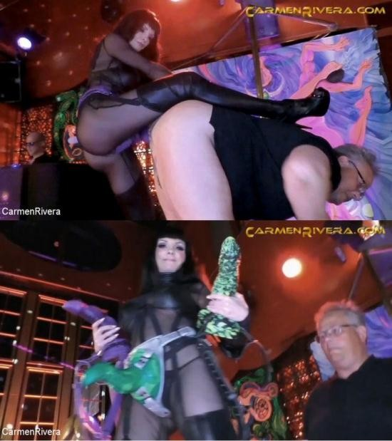 CARMEN RIVERA - FRANK THE BUTT, CARMEN RIVERA - INSOMNIA CLUB BERLIN FEAT. CARMEN'S TOY STORY XL (HD/720p/525 MB)