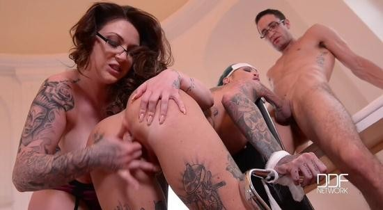 HOUSE OF TABOO - HARMONY REIGNS, CALISI INK, KAI TAYLOR - TATTOOED NURSES GONE WILD – HUMILIATION IN THE DOCTOR'S OFFICE (HD/720p/1.06 GB)