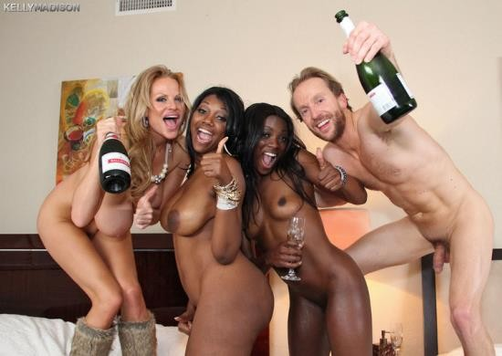 KellyMadison - Nyomi Banxxx, Ana Foxxx, Kelly Madison - Three Years Old Re-Posted Update From PF (FullHD/1080p/3.26 GB)