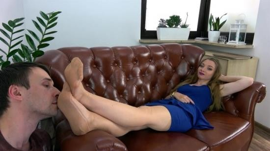 DominantFemine - Helena - Teacher Give Lesson To A Student - Polish Language - Part 1 (FullHD/1080p/288 MB)