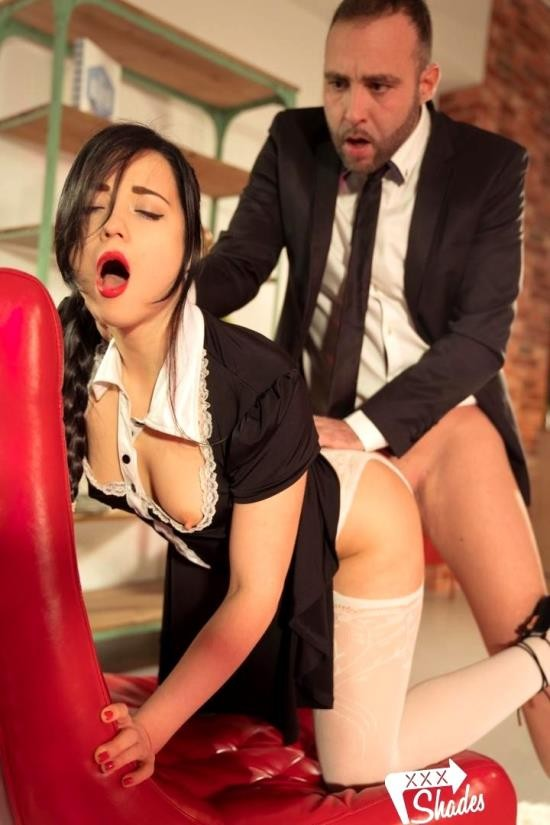 XXXShades/PornDoePremium - Taissia Shanti - Stunning Russian maid Taissia Shanti sucks and fucks hard Spanish cock (HD/720p/399 MB)