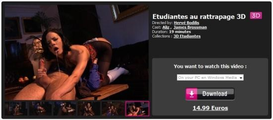 Dorcelvision - Aliz, James Brossman - Etudiantes au rattrapage 3D (FullHD/1080p/1.73 GB)