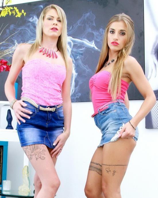 LegalPorno - Silvia Dellai, Claudia Mac - Claudia Mac, Silvia Dellai amazing combo - blondies, gapes with ass rimming, DAP S001 (HD/720p/1.40 GB)