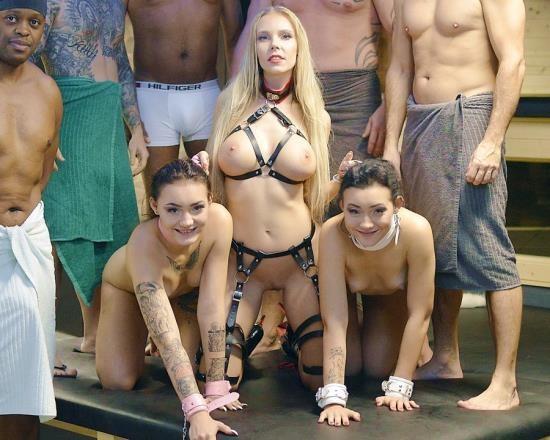 LegalPorno - Florane Russell, Lady Zee, Sandra Zee - 19 Years Old Zee Twins  6 On 2 Orgy In SW Club DAP, DP, Deepthroat, Domination, Lesbian, Interracial, Gapes, Ass To Mouth NF044 (UltraHD/16.2 GB)