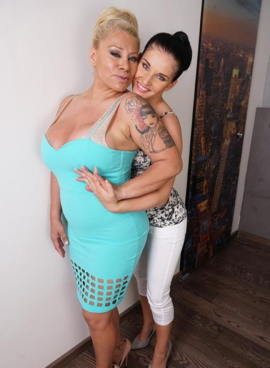 Mature.nl/Mature.eu - Alexa Blun (48), Aria (22) - big breasted lesbian lady has sex with a hot young babe (FullHD/1080p/1.10 GB)