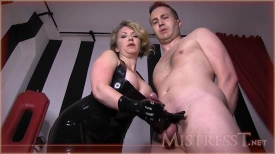 Mistress-T - Mistress-T - Fetish Fuckery - My Caged Toy (HD/720p/280 MB)