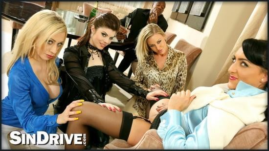 Upperclassfuckfest/SinDrive - Lissa Love, Lucia Love, Chloe Lovette, Chessie Kay - Home Harlots Wanted Part 1: The Lusty Lesbo Warm-Up (HD/720p/861 MB)