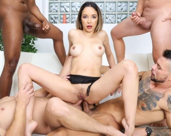 LegalPorno - Francys Belle - Naked Barefoot, Francys Belle 5 On 1 Balls Deep Anal, DAP, Big Gapes And Swallow GIO1612 (HD/1.83 GB)