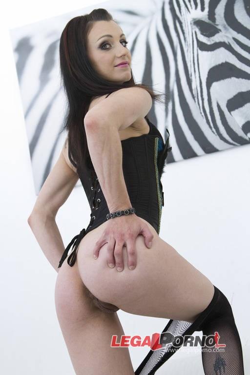 LegalPorno - Kate Black - Nasty new slut Kate Black got DP ed for the first time on Legal Porn SZ8681 (HD/720p/1.03 GB)