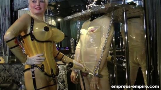 Rubber-Empire - Madame Gilette - Rubber Toys - Part 2. Staring Madame Gilette (HD/720p/734 MB)