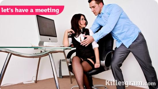 CumIntoMyOffice - Ava Dalush - Lets Have A Meeting (HD/720p/745 MB)
