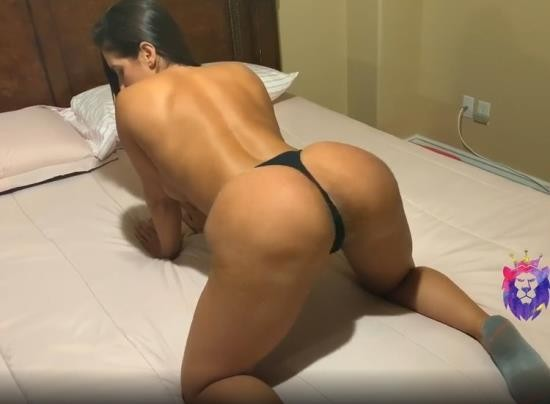 Pornhub - yinyleon - Big Ass Brunette Bounces on Big Dick Doggystyle with Cum Shower at the end (HD/720p/103 MB)