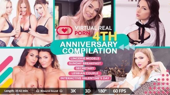VirtualRealporn - Chrissy Fox, Heather Vahn, Lucy Heart, Nancy A, Nathaly Cherie, Sasha Rose, Vanessa Decker, Victoria Daniels - Anniversary Compilation (UltraHD 2K/1600p/4.07 GB)