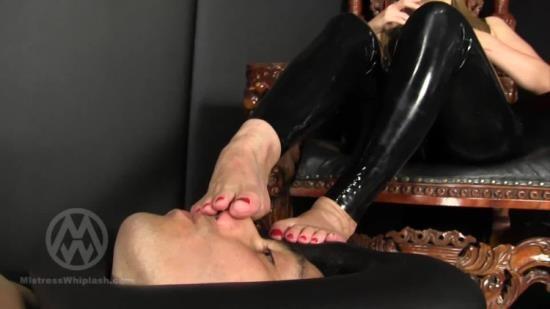 MistressNikkiWhiplash - Mistress Nikki - Trapped Foot Slave Wl1413 (FullHD/1080p/248 MB)