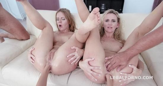 LegalPorno - Sasha Zima, Tatiana Swank, Neo, Thomas Lee, Angelo, Rycky Optimal - Double addicted 5on2 with Sasha Zima and Tanya Swank - No Pussy Balls Deep Anal DAP Anal Fist Gapes ATOGM GIO430 (HD/720p/1.65 GB)