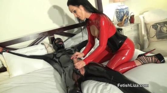 FetishLiza - Fetish Liza - Teased And Denied Sex Slave (HD/720p/225 MB)