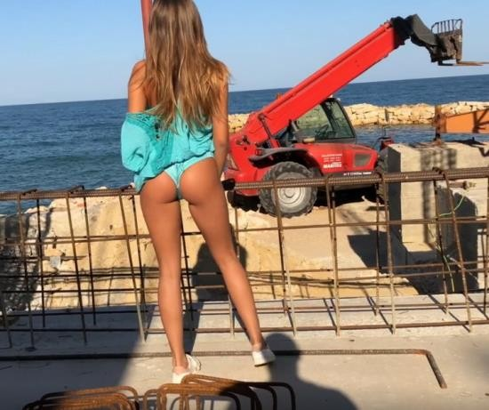 Pornhub - ArrestMe - Exclusive Teen gets Rough Ass Fuck on a Construction site (FullHD/1080p/158 MB)