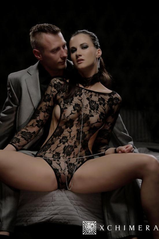 xChimera/PornDoePremium - Lauren Crist - Gorgeous Czech babe Lauren Crist gets creampied in sensual fantasy fuck (HD/720p/537 MB)