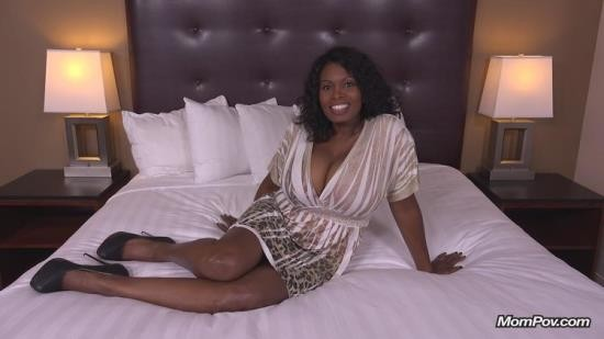 MomPov - Tyra - 47 year old black MILF has epic natural tits (HD/720p/2.94 GB)