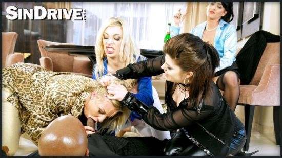 Upperclassfuckfest/SinDrive - Lissa Love, Lucia Love, Chloe Lovette, Chessie Kay - HOME HARLOTS WANTED PART 2: WHICH CHICK CAN BEST HANDLE THE BIG, BLACK DICK!? (HD/720p/1003 MB)