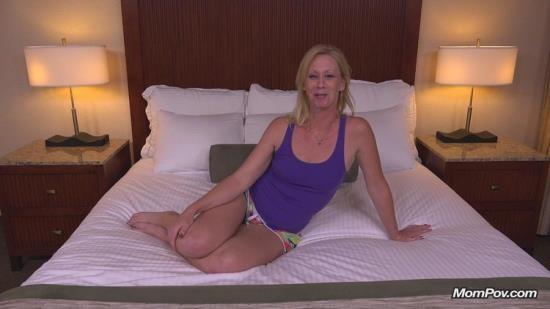 MomPov - Bonnie - 41 year old sexually wild MILFs first porn (HD/720p/3.25 GB)
