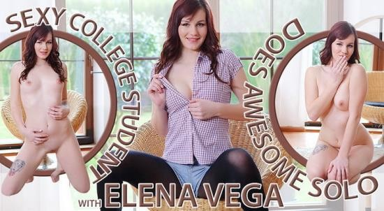 TmwVRnet - Elena Vega - Sexy College Student Does Awesome Solo (UltraHD 2K/1920p/3.14 GB)